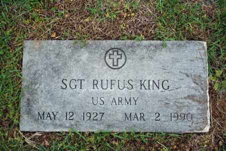 KING (VETERAN), RUFUS - Searcy County, Arkansas | RUFUS KING (VETERAN) - Arkansas Gravestone Photos