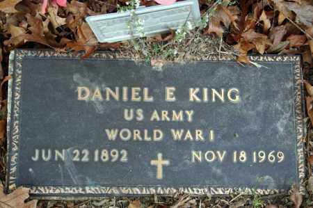 KING (VETERAN WWI), DANIEL E - Searcy County, Arkansas | DANIEL E KING (VETERAN WWI) - Arkansas Gravestone Photos