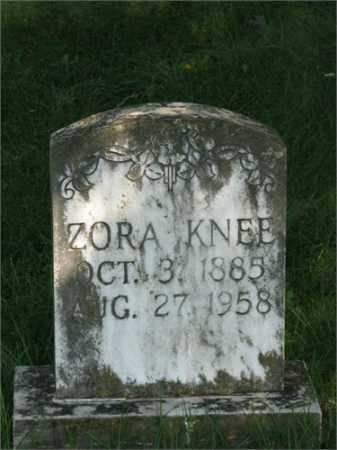 KNEE, ZORA - Searcy County, Arkansas | ZORA KNEE - Arkansas Gravestone Photos
