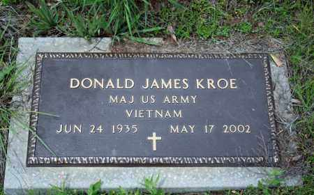 KROE (VETERAN VIET), DONALD JAMES - Searcy County, Arkansas | DONALD JAMES KROE (VETERAN VIET) - Arkansas Gravestone Photos