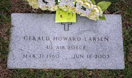 LARSEN (VETERAN), GERALD HOWARD - Searcy County, Arkansas | GERALD HOWARD LARSEN (VETERAN) - Arkansas Gravestone Photos