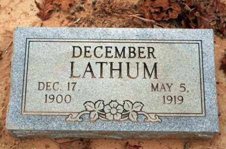 LATHUM, DECEMBER - Searcy County, Arkansas | DECEMBER LATHUM - Arkansas Gravestone Photos