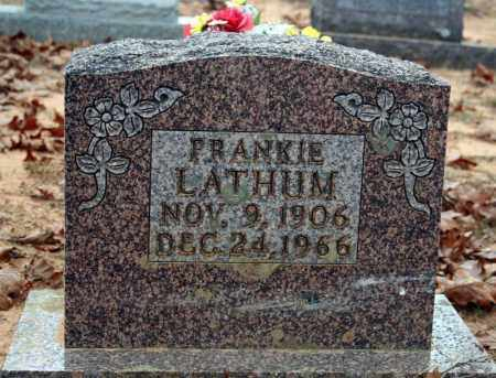 LATHUM, FRANKIE - Searcy County, Arkansas | FRANKIE LATHUM - Arkansas Gravestone Photos