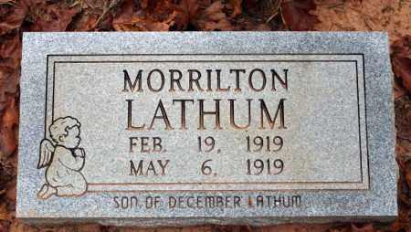 LATHUM, MORRILTON - Searcy County, Arkansas | MORRILTON LATHUM - Arkansas Gravestone Photos
