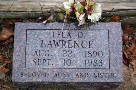 LAWRENCE, LELA O. - Searcy County, Arkansas | LELA O. LAWRENCE - Arkansas Gravestone Photos