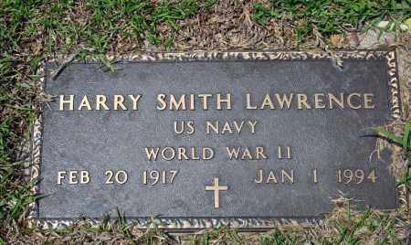 LAWRENCE (VETERAN WWII), HARRY SMITH - Searcy County, Arkansas | HARRY SMITH LAWRENCE (VETERAN WWII) - Arkansas Gravestone Photos