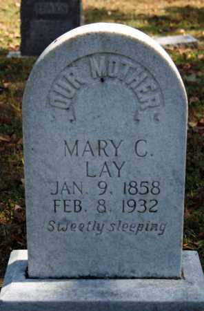 HORTON LAY, MARY C. - Searcy County, Arkansas | MARY C. HORTON LAY - Arkansas Gravestone Photos