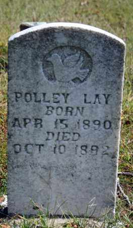 LAY, POLLEY - Searcy County, Arkansas | POLLEY LAY - Arkansas Gravestone Photos