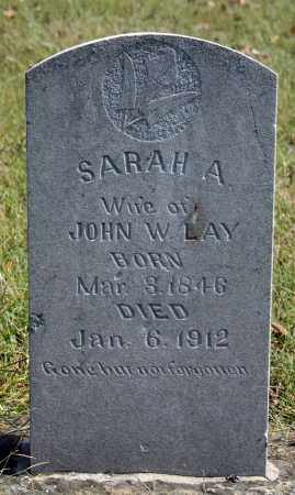 LAY, SARAH A. - Searcy County, Arkansas | SARAH A. LAY - Arkansas Gravestone Photos