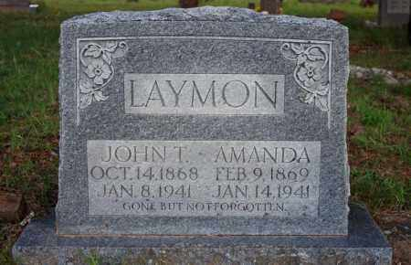LAYMON, JOHN THOMAS - Searcy County, Arkansas | JOHN THOMAS LAYMON - Arkansas Gravestone Photos