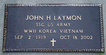 LAYMON  (VETERAN 3 WARS), JOHN HARLIN - Searcy County, Arkansas | JOHN HARLIN LAYMON  (VETERAN 3 WARS) - Arkansas Gravestone Photos