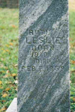 LESLIE, RUTH - Searcy County, Arkansas | RUTH LESLIE - Arkansas Gravestone Photos