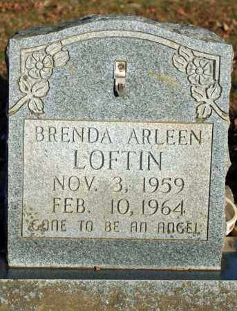 LOFTIN, BRENDA ARLEEN - Searcy County, Arkansas | BRENDA ARLEEN LOFTIN - Arkansas Gravestone Photos