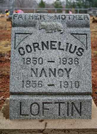 LOFTIN, NANCY ANN (BURRIS) - Searcy County, Arkansas | NANCY ANN (BURRIS) LOFTIN - Arkansas Gravestone Photos