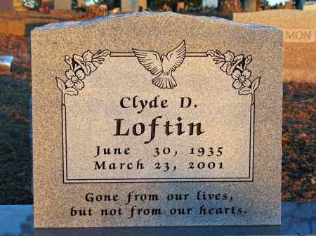 LOFTIN, CLYDE DEE - Searcy County, Arkansas | CLYDE DEE LOFTIN - Arkansas Gravestone Photos