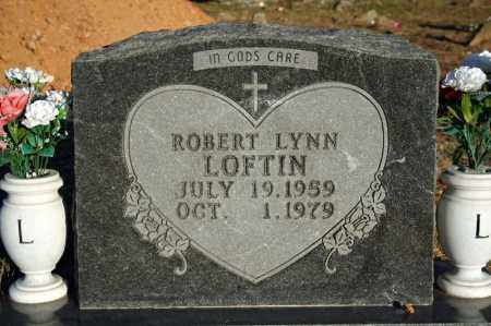 LOFTIN, ROBERT LYNN - Searcy County, Arkansas | ROBERT LYNN LOFTIN - Arkansas Gravestone Photos