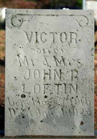 LOFTIN, VICTOR - Searcy County, Arkansas | VICTOR LOFTIN - Arkansas Gravestone Photos