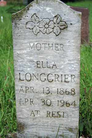 HODGES LONGCRIER, ELLA - Searcy County, Arkansas | ELLA HODGES LONGCRIER - Arkansas Gravestone Photos