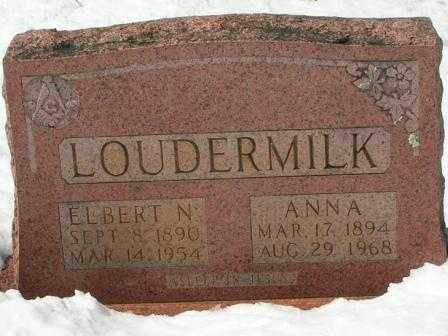 LOUDERMILK, ELBERT - Searcy County, Arkansas | ELBERT LOUDERMILK - Arkansas Gravestone Photos