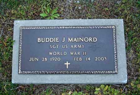 MAINORD (VETERAN WWII), BUDDIE J - Searcy County, Arkansas | BUDDIE J MAINORD (VETERAN WWII) - Arkansas Gravestone Photos
