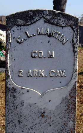 MARTIN (VETERAN UNION), C. L. - Searcy County, Arkansas | C. L. MARTIN (VETERAN UNION) - Arkansas Gravestone Photos