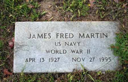 MARTIN (VETERAN WWII), JAMES FRED - Searcy County, Arkansas | JAMES FRED MARTIN (VETERAN WWII) - Arkansas Gravestone Photos