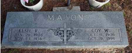 MASON, ELSIE V. - Searcy County, Arkansas | ELSIE V. MASON - Arkansas Gravestone Photos