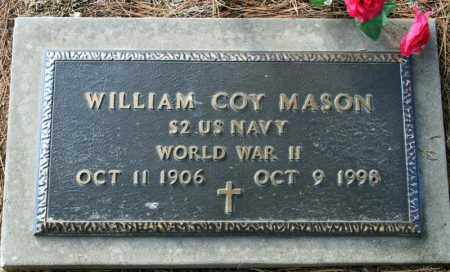MASON (VETERAN WWII), WILLIAM COY - Searcy County, Arkansas | WILLIAM COY MASON (VETERAN WWII) - Arkansas Gravestone Photos