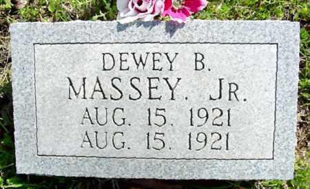 MASSEY, JR., DEWEY BENJAMIN - Searcy County, Arkansas | DEWEY BENJAMIN MASSEY, JR. - Arkansas Gravestone Photos
