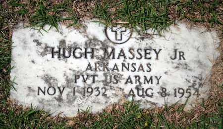 MASSEY, JR (VETERAN), HUGH - Searcy County, Arkansas | HUGH MASSEY, JR (VETERAN) - Arkansas Gravestone Photos
