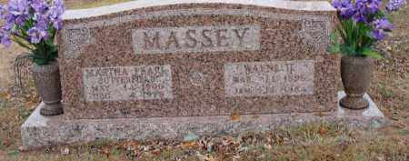 MASSEY, WAYNE - Searcy County, Arkansas | WAYNE MASSEY - Arkansas Gravestone Photos