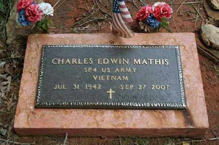 MATHIS (VETERAN VIET), CHARLES EDWIN - Searcy County, Arkansas | CHARLES EDWIN MATHIS (VETERAN VIET) - Arkansas Gravestone Photos