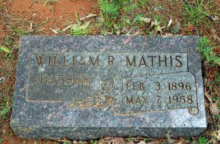 MATHIS, WILLIAM RILEY - Searcy County, Arkansas | WILLIAM RILEY MATHIS - Arkansas Gravestone Photos