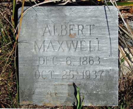 MAXWELL, ALBERT - Searcy County, Arkansas | ALBERT MAXWELL - Arkansas Gravestone Photos