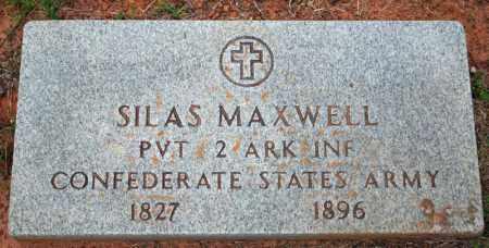MAXWELL  (VETERAN CSA), SILAS LAFAYETTE - Searcy County, Arkansas | SILAS LAFAYETTE MAXWELL  (VETERAN CSA) - Arkansas Gravestone Photos
