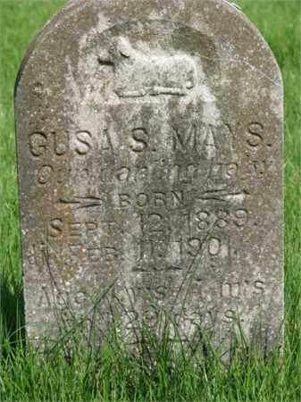 MAYS, GUS S. - Searcy County, Arkansas | GUS S. MAYS - Arkansas Gravestone Photos