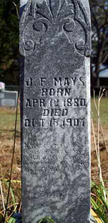 MAYS, J. F. - Searcy County, Arkansas | J. F. MAYS - Arkansas Gravestone Photos