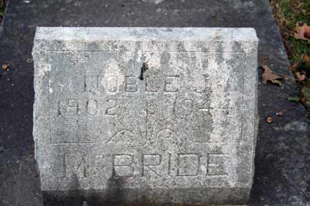 MCBRIDE, NOBLE J. - Searcy County, Arkansas | NOBLE J. MCBRIDE - Arkansas Gravestone Photos