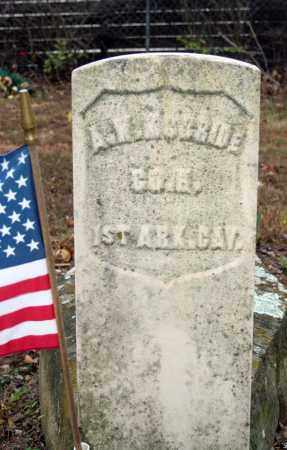 MCBRIDE (VETERAN UNION), A W - Searcy County, Arkansas | A W MCBRIDE (VETERAN UNION) - Arkansas Gravestone Photos