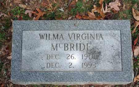 MCBRIDE, WILMA VIRGINIA - Searcy County, Arkansas | WILMA VIRGINIA MCBRIDE - Arkansas Gravestone Photos