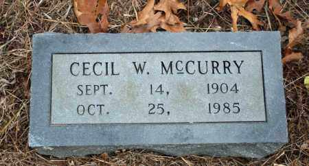 MCCURRY, CECIL W. - Searcy County, Arkansas | CECIL W. MCCURRY - Arkansas Gravestone Photos