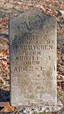 MCCUTCHEN, ALBERT C. - Searcy County, Arkansas | ALBERT C. MCCUTCHEN - Arkansas Gravestone Photos