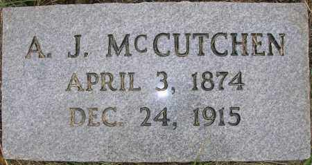 MCCUTCHEN, ANGUS JACKSON - Searcy County, Arkansas | ANGUS JACKSON MCCUTCHEN - Arkansas Gravestone Photos