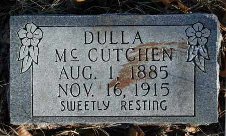 MCCUTCHEN, DULLA - Searcy County, Arkansas | DULLA MCCUTCHEN - Arkansas Gravestone Photos