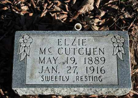 MCCUTCHEN, ELZIE - Searcy County, Arkansas | ELZIE MCCUTCHEN - Arkansas Gravestone Photos