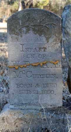MCCUTCHEN, INFANT SON - Searcy County, Arkansas | INFANT SON MCCUTCHEN - Arkansas Gravestone Photos