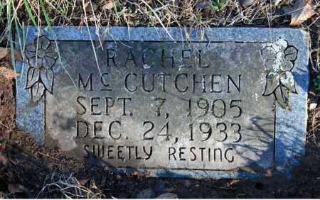 MCCUTCHEN, RACHEL - Searcy County, Arkansas | RACHEL MCCUTCHEN - Arkansas Gravestone Photos