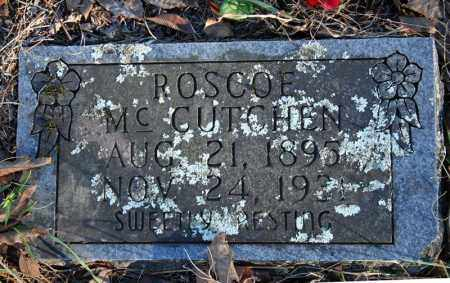 MCCUTCHEN, ROSCOE - Searcy County, Arkansas | ROSCOE MCCUTCHEN - Arkansas Gravestone Photos