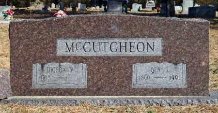 MCCUTCEON, TOCCOA V. - Searcy County, Arkansas | TOCCOA V. MCCUTCEON - Arkansas Gravestone Photos