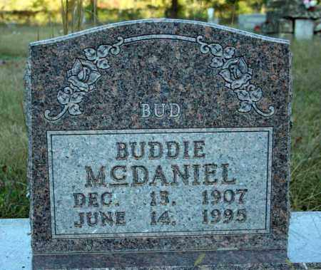 MCDANIEL, BUDDIE - Searcy County, Arkansas | BUDDIE MCDANIEL - Arkansas Gravestone Photos
